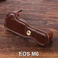 Canon EOS M6 Half-Body Leather Case Base