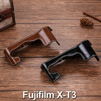 Fujifilm X-T3 Half-Body Leather Case Base
