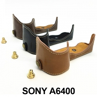 SONY A6400 Half-Body Leather Case Base