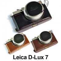 Leica D-Lux 7 Half-Body Leather Case Base