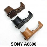 SONY A6600 Half-Body Leather Case Base