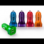 Momax Rainbow 3.4A Dual USB Car Charger