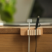 Wooden Cable Holder