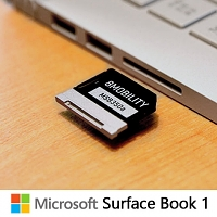 Microsoft Surface Book 1 Aluminum Micro SD Adapter