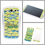 Samsung Galaxy S III I9300 Phone Sticker Front/Rear Set - Alien's World