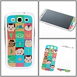 Samsung Galaxy S III I9300 Phone Sticker Front/Rear Set - Cartoon Toy Story Family