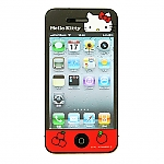 iPhone 4/4S Hello Kitty Front Screen Protector - Big Apple