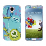 Samsung Galaxy S4 Phone Sticker Front/Side/Rear Set - Sulley and Mike