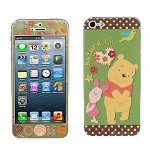 iPhone 5 Phone Sticker Front/Side/Rear Combo Set - Winnie the Pooh