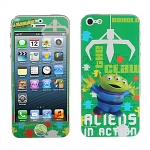 iPhone 5 Phone Sticker Front/Side/Rear Combo Set - Alien