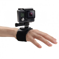 3-in-1 Hand Wrist Arm Leg Straps 360 degree Rotation Mount