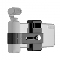 Smartphone Fixing Clamp 1/4 inch Holder Mount Bracket for DJI OSMO Pocket