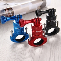 360 Degree Rotation Bike Aluminum Handlebar Adapter Mount with Screw