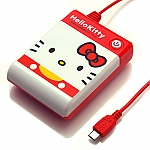 Hello Kitty Red-White AA Battery Emergency Charger Box for Android Phone/Smart Phone