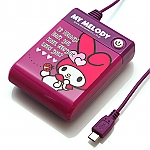 My Melody Purple AA Battery Emergency Charger Box for Android Phone/Smart Phone