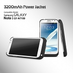 Power Jacket for Samsung Galaxy Note II GT-N7100 - 3200mAh