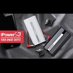 5600mAh iPower Portable Dual Micro USB / USB Output External Battery Pack