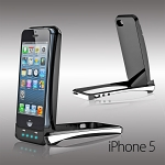 Foldable External Power Dock for iPhone 5 (3000mAh)