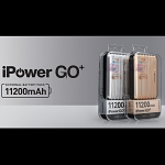 11200mAh iPower GO+ Dual USB Output (2.1A+1A) External Battery