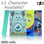 Disney Portable Power Bank 4000mAh