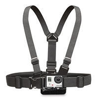 Chest Strap Mount Belt Harness with Buckle Bracket Screw