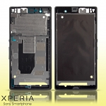 Sony Xperia Z LT36h Replacement Middle Housing - Black