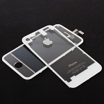 iPhone 4S Transparent Front & Rear Panel Set - White
