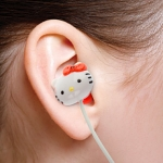 Hello Kitty Handsfree Earphone with Cable Tie