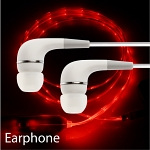 Flashing LED Earphone