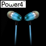 Power4 Visible EL Flowing Light Inner Earphone