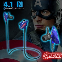 E-Blue Avengers Bluetooth Headset - Captain America