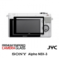 JYC Pro LCD Screen Glass Protector for Camera (Sony Alpha NEX-3 / 5)