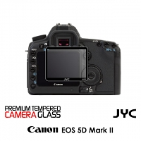 JYC Pro LCD Screen Glass Protector for Camera (Canon EOS 5D Mark II / 40D / 50D)