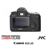 JYC Pro LCD Screen Glass Protector for Camera (Canon EOS 6D)