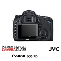 JYC Pro LCD Screen Glass Protector for Camera (Canon EOS 7D)