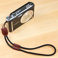 Brown Leather Camera Wrist Strap