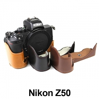 Nikon Z50 Half-Body Leather Case Base