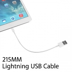Short Lightning USB Cable (215mm)