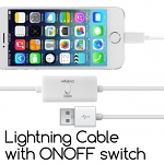 Lightning Cable w/ ON/OFF switch