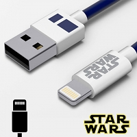 Tribe Star Wars R2-D2 Lightning USB Cable