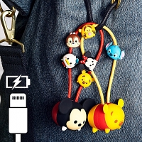 Disney Tsum Tsum Lightning USB Sync Charging Short Cable