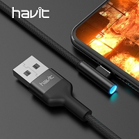 HAVIT USB to Lightning Cable with LED
