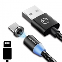 Lightning Magnetic LED Charging Cable