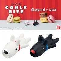 Cable Bite Gaspard and Lisa for Lightning Cable