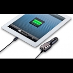 Momax iPhone/iPad iOS7 Built-in Lightning PLUS USB Port Car Charger (Apple Authorized)