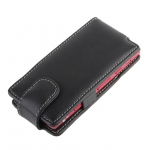 Brando Workshop Leather Case for Sony Xperia P LT22i (Flip Top)