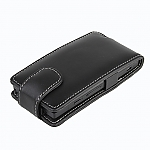 Brando Workshop Leather Case for Sony Xperia sola MT27i (Flip Top)