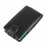 Brando Workshop Leather Case for Nokia Lumia 900 (Flip Top)