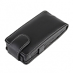 Brando Workshop Leather Case for Sony Xperia U ST25i (Flip Top)