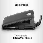 Brando Workshop Leather Case for Huawei Honor U8860 (Flip Top)